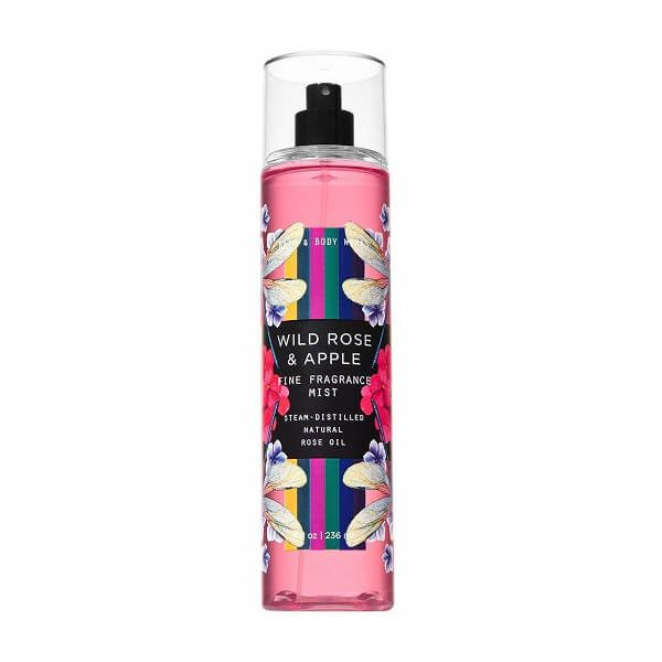 Xịt thơm toàn thân Bath & Body Works Wild Rose & Apple 236ml